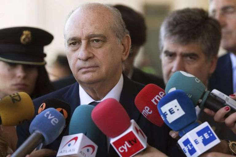 "Interior Minister Jorge Fernández Díaz described Spain as ""one of the safest countries in the EU"" in Ávila last Friday."