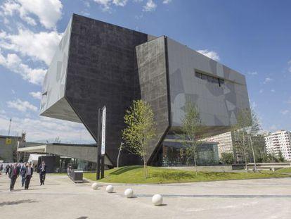The new CaixaForum in Zaragoza.
