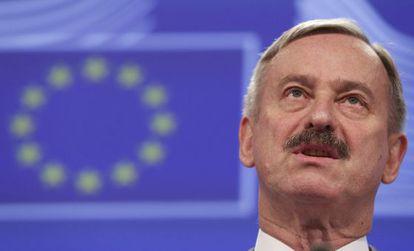 Siim Kallas, vice-president of the European Commission.