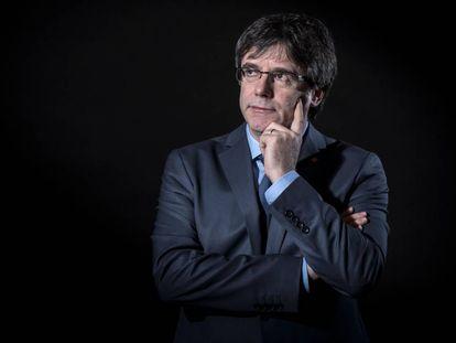 Former Catalan premier Carles Puigdemont.