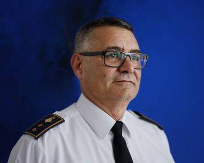 The new Chief of Police, Josep Palouzié.