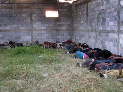 Some of the 72 people killed in Tamaulipas in 2010.