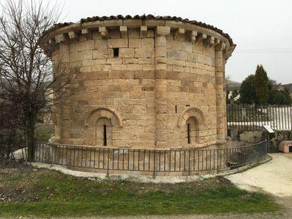 Pre-Romanesque shrine of Santa María de Cárdaba, near Sacramenia (Segovia).