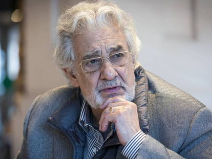 A fragment from the EL PAÍS interview with Spanish opera singer Plácido Domingo.