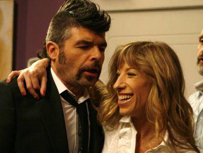 Nacho Guerreros as Coque in the Spanish TV series 'La que se avecina.'
