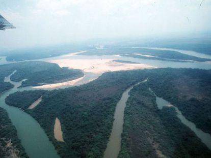 Aerial view of the Brazilian Amazon.