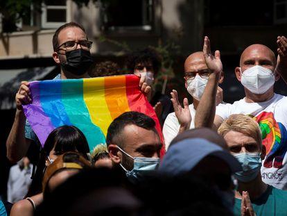 A demonstration against homophobia in Barcelona on June 5.