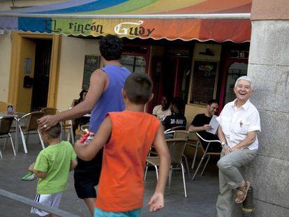 El Rincón Guay, one of Lavapiés' growing number of gay establishments.