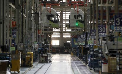 The Iveco plant in Madrid.