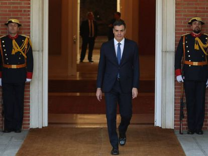 Spain's new Prime Minister Pedro Sanchez.