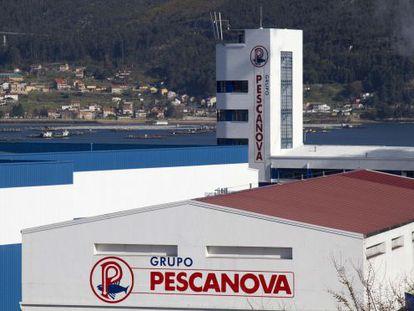 Pescanova's main factory in Vigo, Pontevedra.
