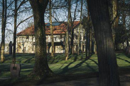 The farmhouse Zabalaga.