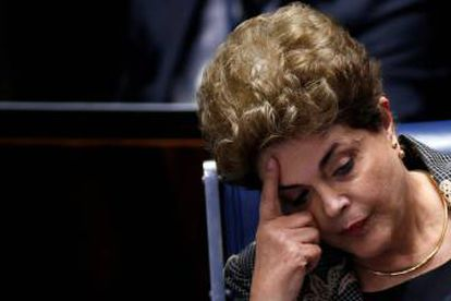 Dilma Rousseff was removed from office in an impeachment process supported by Cunha.
