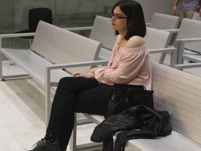 Cassandra during her High Court trial.