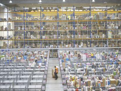 Amazon's warehouse in san Fernando de Henares (Madrid).