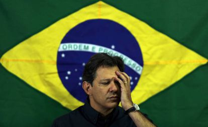 Fernando Haddad, presidential candidate of Brazil's leftist Workers' Party.
