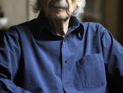 Juan Gelman, pictured in his home last April.
