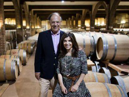 Carlos Falcó and his daughter Xandra.