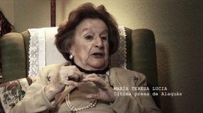 María Teresa Lucia, the last prisoner at Alaquàs.