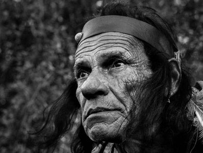 Ju Wok, a descendant of the Charrúa peoples, whose great-grandmother was an indigenous woman who married an Italian man.