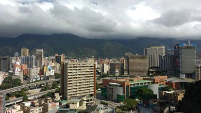 A view of Caracas, the world's most dangerous city.