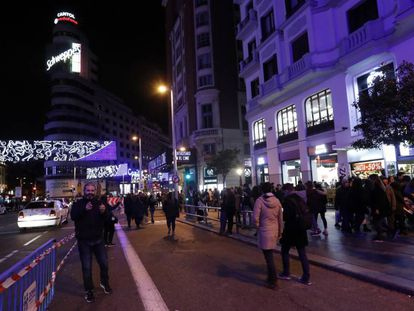 Madrid's Gran Vía will be closed to traffic for the holiday season.