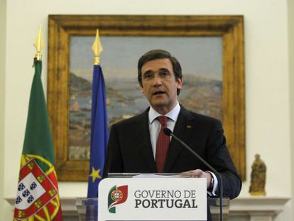 Portuguese Prime Minister Pedro Passos Coelho.