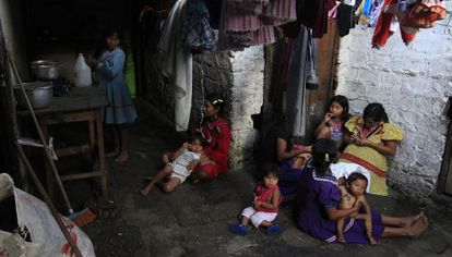 Of Colombia's 48 million residents, 13.2 million live in poverty.