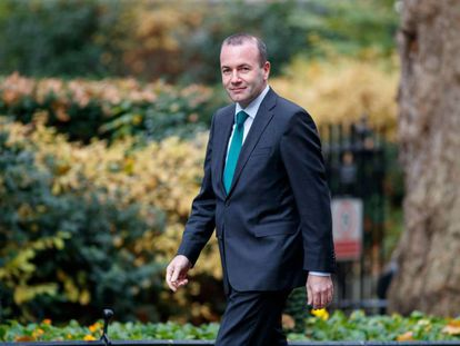 Leader of the European People's Party Manfred Weber.