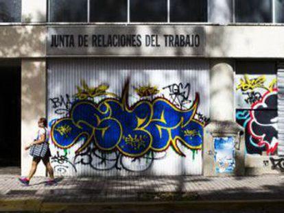 A street in San Juan, Puerto Rico.