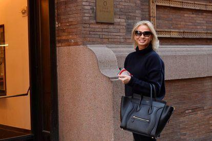 Corinna Larsen, pictured in New York in 2016.
