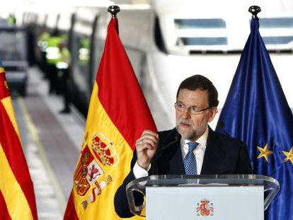 """Spanish PM Mariano Rajoy is offering to """"listen and talk."""""""