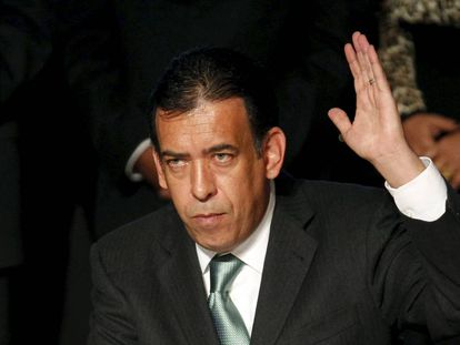 Mexican ex-governor Humberto Moreira in 2011.
