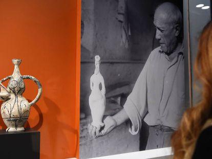 The 'Plein Soleil' exhibition in Paris.