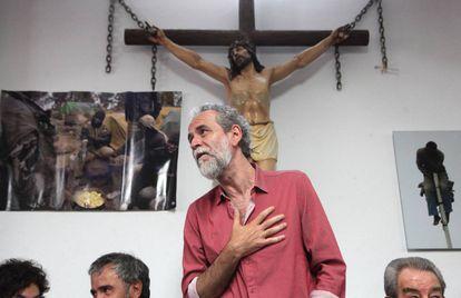 Actor and activist Willy Toledo.