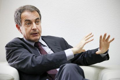 Former Prime Minister José Luis Rodríguez Zapatero, who was in power from 2004 until 2011.