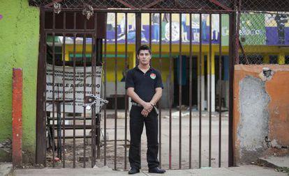L. F. Ceniceros grew up at Mamá Rosa's shelter.