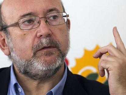 IU Andalusian deputy Ignacio García.
