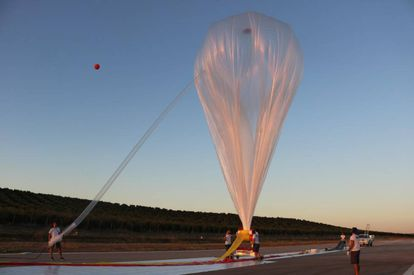A balloon owned by the Spanish company Zero 2 Infinity.