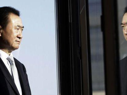 Wang Jianlin, chairman of Dalian Wanda Group, in his Beijing office.