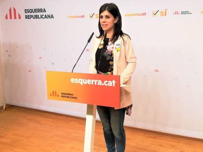Catalan Republican Left spokesperson Marta Vilalta.