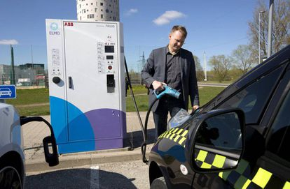 """Practically at the same time the public subsidies were introduced, Ermo Kontson created his pioneering electric-taxi company in Tartu, the second-biggest city in Estonia. """"In 50 years no one will remember gasoline, the future is electric vehicles,"""" he says."""