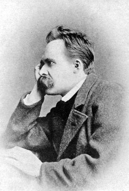 The philosopher Friedrich Nietzsche.