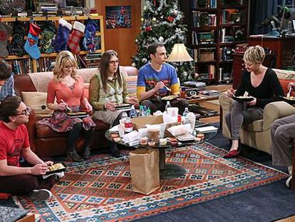 A scene from 'The Big Bang Theory.'