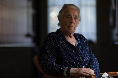 Lucía de la Torre Muñoz, 94, recounts what she remembers about the arrest and execution of her mother.