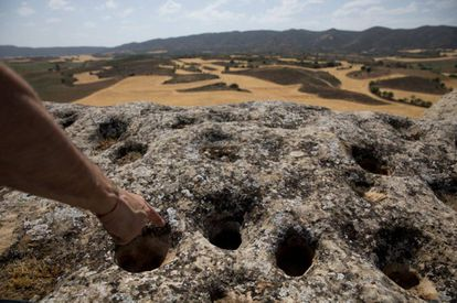 These holes may have been made for decorative or religious purposes.