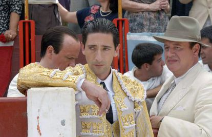 """Adrien Brody takes the eponymous matador role in the """"doomed"""" movie Manolete."""