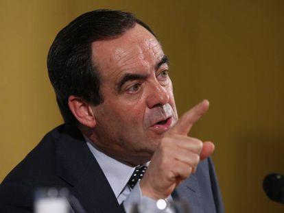 José Bono, former defense minister of Spain.