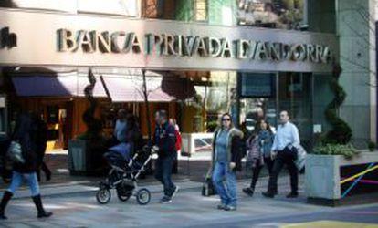 Banco de Madrid's parent company in Andorra, BPA.