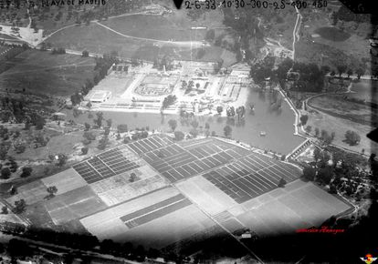 An aerial view of the facilities in an archive photo provided by the Spanish Air Force.